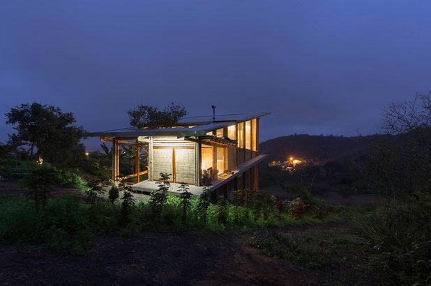 Arquitectura: Una cabaña sin paredes, puertas ni escaleras