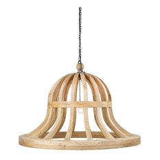 NEITH BELL CHANDELIER, 54""