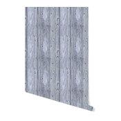 Removable Wallpaper-Beach Wood-Peel & Stick Self Adhesive, 24x96