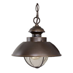 Vaxcel   Harwich Outdoor Pendant, Burnished Bronze   Outdoor Hanging Lights