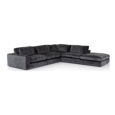 Berezi 4-Piece Left-Arm Sectional With Ottoman
