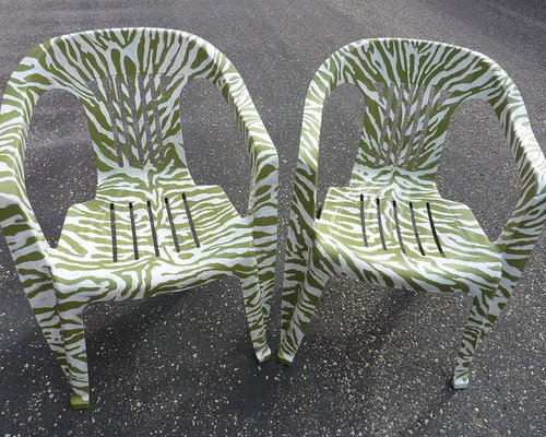 Embracing the zebra - Outdoor Lounge Chairs