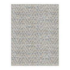 Couristan Tortola Accent Rug, Indoor/Outdoor Carpet, Ash, XXL 12'x18'