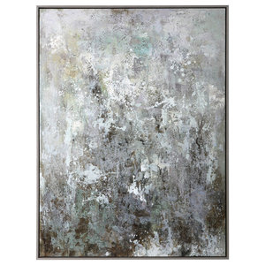 Uttermost Sea Mist Hand Painted Canvas