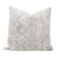 Tai Decorative Pillow, Authentic Vintage Chinese Batik
