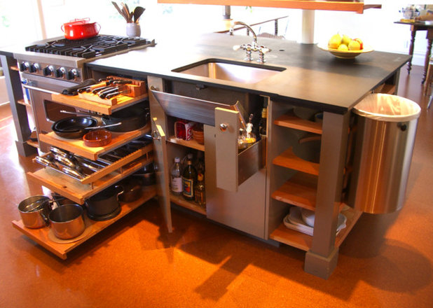 10 big space saving ideas for small kitchens for Kitchen space savers