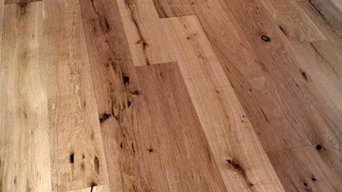 "pre finished European oiled oak 7 1/2"" wide"