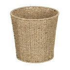 Household Essentials ML-5692 Seagrass Waste Bin