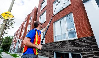 Window cleaning Condo / Lavage de vitres de copropriétés
