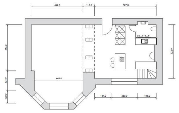 Grundriss by REFUGIUM - Interior Design