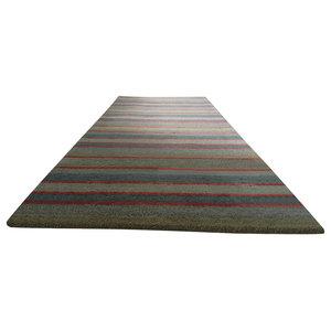 Handloom Multi Stripe Runner, Catalan, 80x250 cm