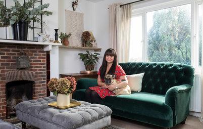 Visita privada: La casa rústica 100 % 'british' de una bloguera