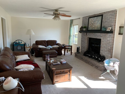 Need Help With How To Lay Out Furniture And Decorate This Awkward Room