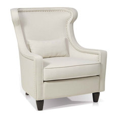 artefac wing chair fabric armchairs and accent chairs