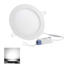 houzz recessed lighting. plain recessed yeshom  9w 45 led recessed ceiling round panel light lamp cool white  and houzz lighting