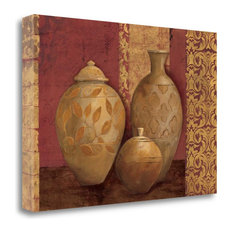 """""""Aegean Vessels On Spice"""" By Avery Tillmon, Giclee Print on Gallery Wrap Canvas"""