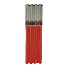 Farandole Curtain, Orange