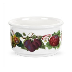 Portmeirion Pomona Ramekins, Stackable, Fruit Garland, Set of 6