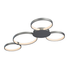 Capella LED Ceiling Light, Silver