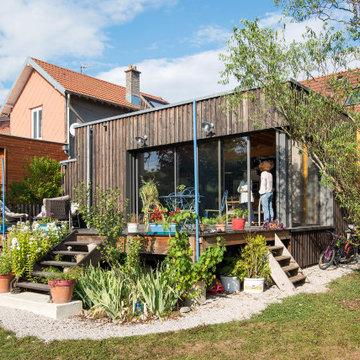 extension d'une maison AJYL