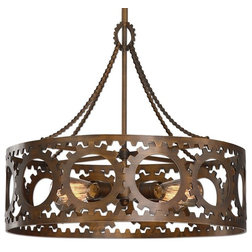 Spectacular Industrial Pendant Lighting by Furniture East Inc
