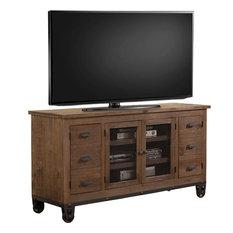 Parker House LaPaz TV Console Brown 63-inch