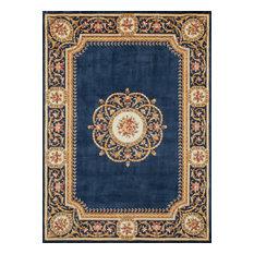 """Harmony Hand-Tufted Rug, Blue, 3'6""""x5'6"""""""