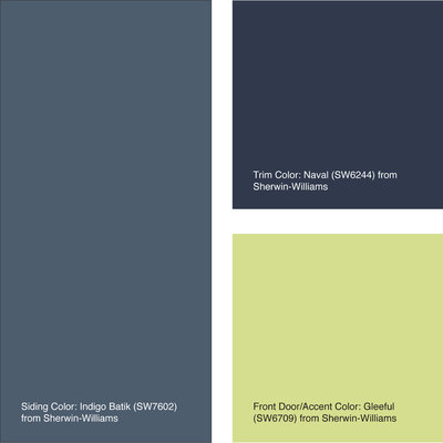 Which Paint Colors Go With Gray Trim