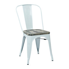 Vintage Metal Dining Chairs vintage metal dining chairs | houzz