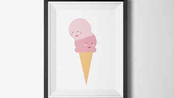 Affiche sweet ice-cream
