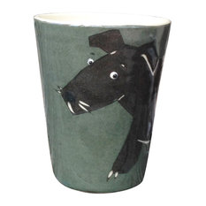 Dog Animal Cups, Set of 2