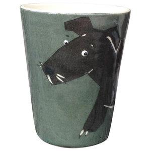 Dog Animal Cups, Set of 2