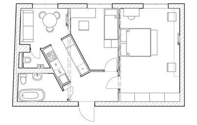 Увеличим КПД: Неочевидные идеи для маленьких квартир
