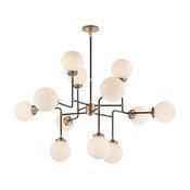 Visual Comfort Lighting Studio Bistro 12 Light Chandelier