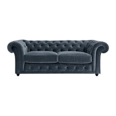 Churchill Chesterfield Sofa Bed, Windsor, 2 Seater, 113x183 cm