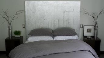 Queen Duvet Cover and Sham Set - Gray