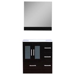 Contemporary Bathroom Vanities And Sink Consoles by Adornus Cabinetry