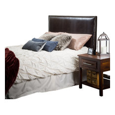gdfstudio westin kingtocal king adjustable leather headboard brown headboards