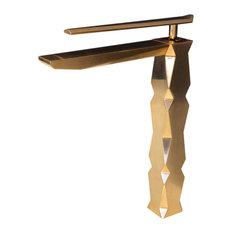 Ikon Vessel Sink Faucet, Brushed Gold