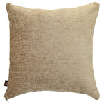 Yorkshire Fabric Shop - Otley Chenille Scatter Cushion, Mink, 55x55 Cm - The chenille cover of this cushion offers both softness and texture, while the shimmering solid colouring makes this piece attractive as well. Place the 55-by-55-centimetre mink Otley Chenille Scatter Cushion on a chair, sofa or bed for a complementary piece that offers a decorative look. From deep within the UK, the family-run Yorkshire Fabric Shop produces upholstery fabrics and a wide range of cushions for homes across the world.