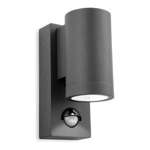 Shelby Single LED Outdoor Wall Light With PIR
