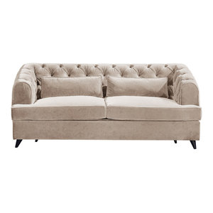 Earl Grey Sofa Bed, Yorkstone, 2-Seater, 113x186 cm