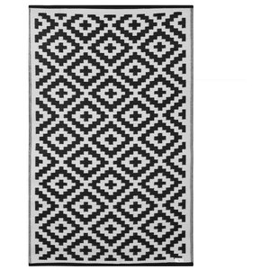 Nirvana Indoor/Outdoor Rug, Black and White, 180x270 Cm