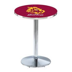 Arizona State Pub Table With Sparky Logo 36-inchx42-inch