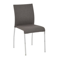 scandinavian office chairs. Office Star Products - Conway Stacking Chair In Smoke Fabric, Fully Assembled, 4- Scandinavian Chairs