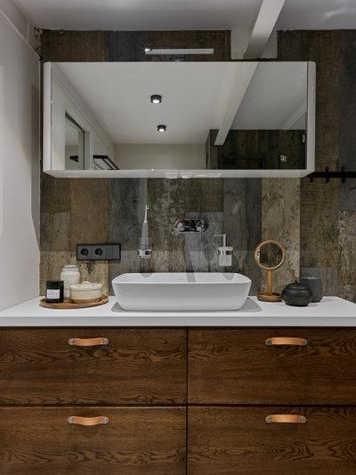 Лофт Ванная комната by Totaste.studio | Виктор Штефан