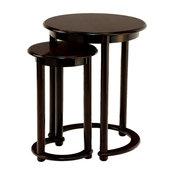 2-Piece Cole Nesting Table Set, Espresso