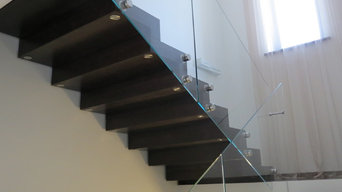 Лестница с закрытым подступенком