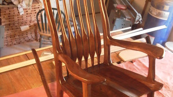 Walnut Maloof Rocker