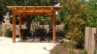 Wooley/Gilmore patio